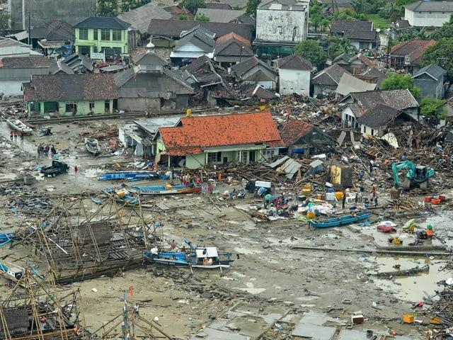 Bild der Zerstörung