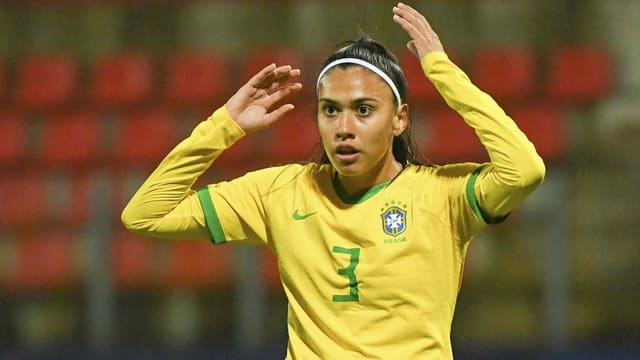 Brasiliens Nationalspielerin Antonia.