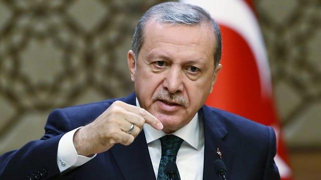 Il president tirc Recep Tayyip Erogan.