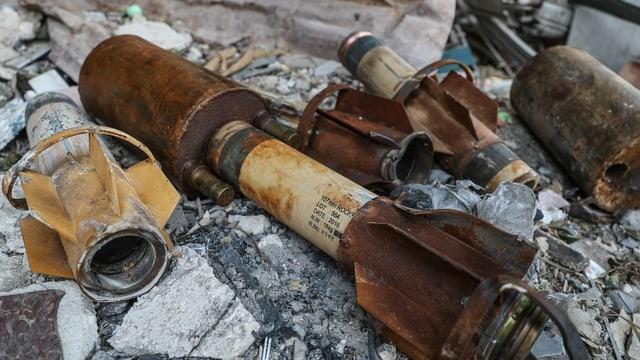 Projektile für Giftgas