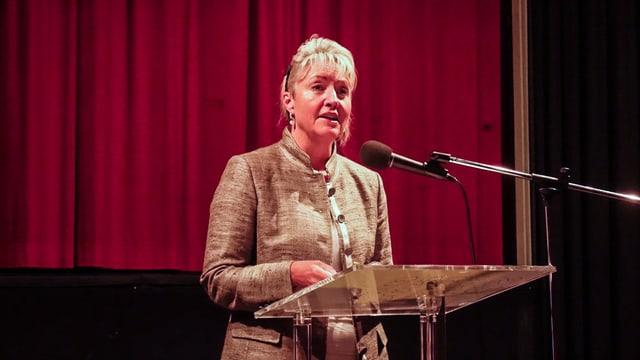 Barbara Janom Steiner è commembra dal cussegl da fundaziun.