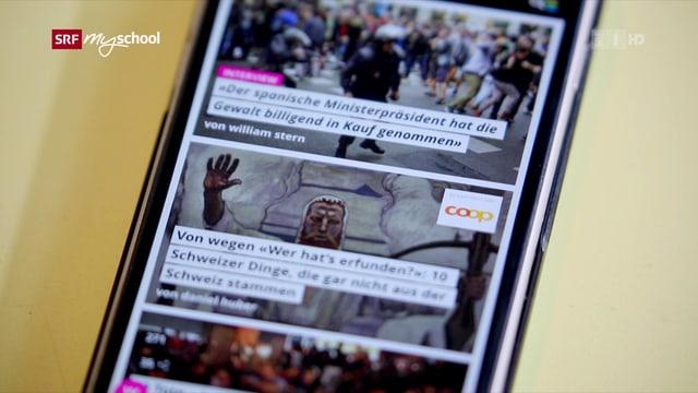 Video «Alles gratis oder was? – News im Internet» abspielen