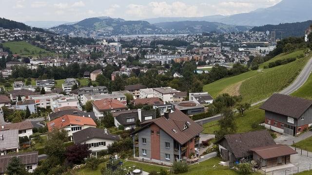 So wird die Schweiz zersiedelt