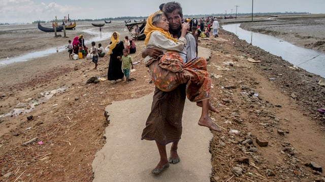 Rohigya-Flüchtlinge