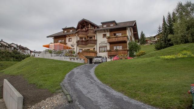 L'hotel Gravas a Vella