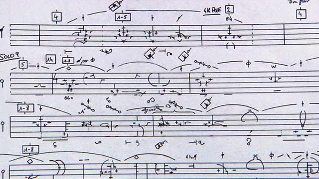 Benesh Movement Notation.