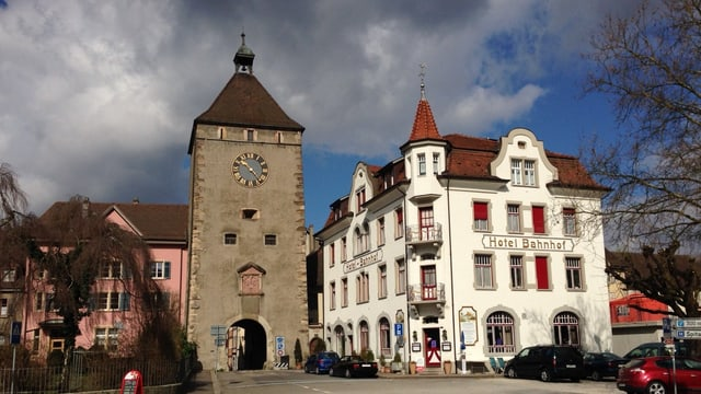 Das Stadttor von Laufenburg