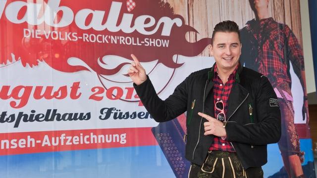 Volks-Rock'n'Roller Andreas Gabalier gibt im Festspielhaus Füssen die ersten Namen seiner musikalischen Gäste bekannt.