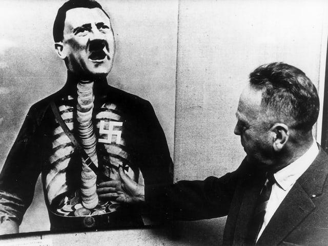 Das Hitler-Titelblatt und Heartfield.