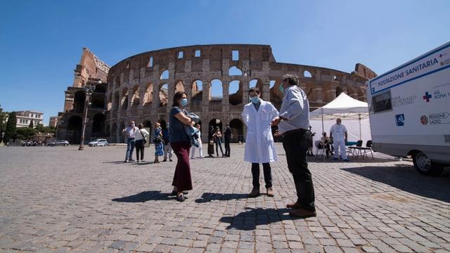 Das Kolosseum in Rom ist seit dem 1. Juni wieder offen.