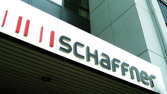 Haupteingang der Firma Schaffner in Luterbach
