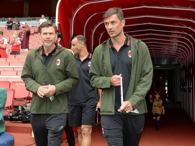Zvonimir Boban und Paolo Maldini.