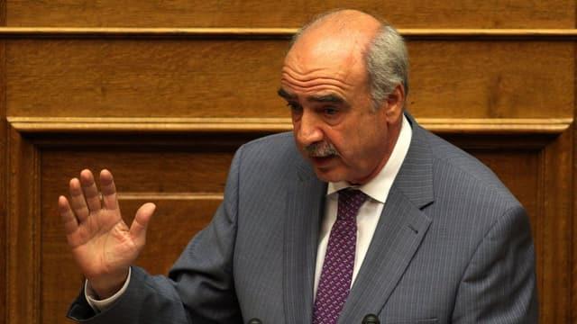 Il politicher grec Evangelos Meiramakis