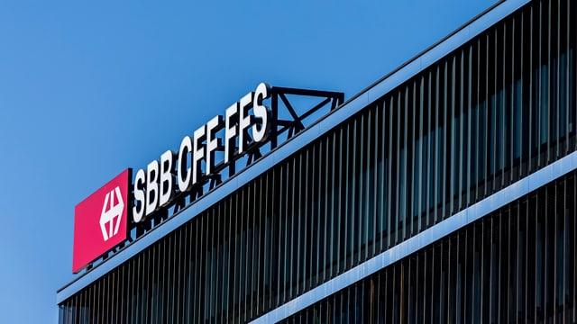 Purtret dal logo da l'SBB.