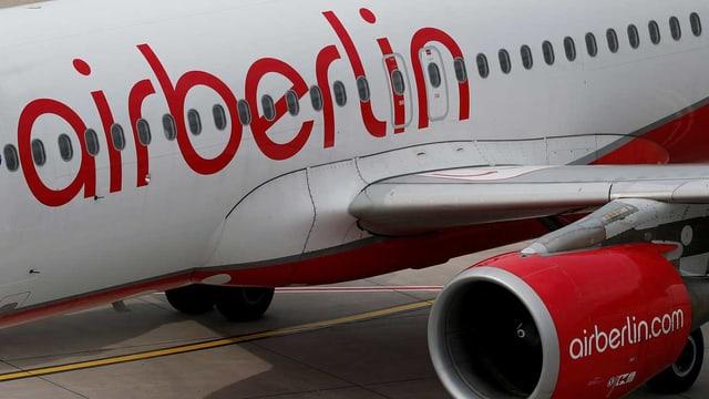 Ein Flugzeug der Air Berlin