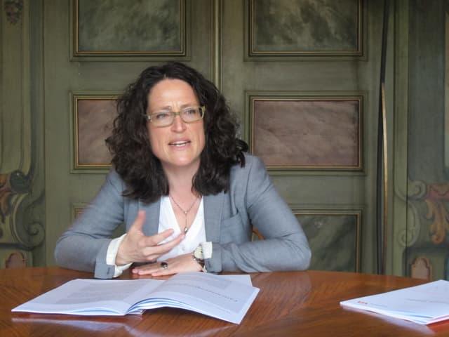 Die Winterthurer Ombudsfrau Viviane Sobotich.