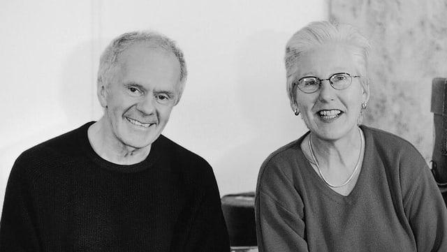 Irène Schweizer und Pierre Favre.