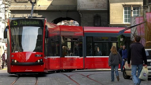 Ein Tram.