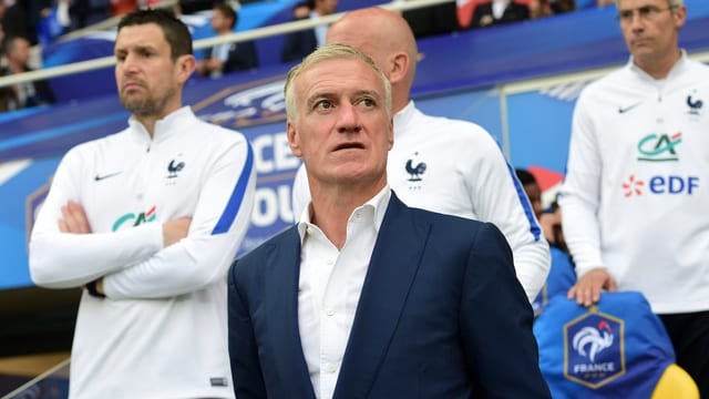 Frankreichs Trainer Didier Deschamps.