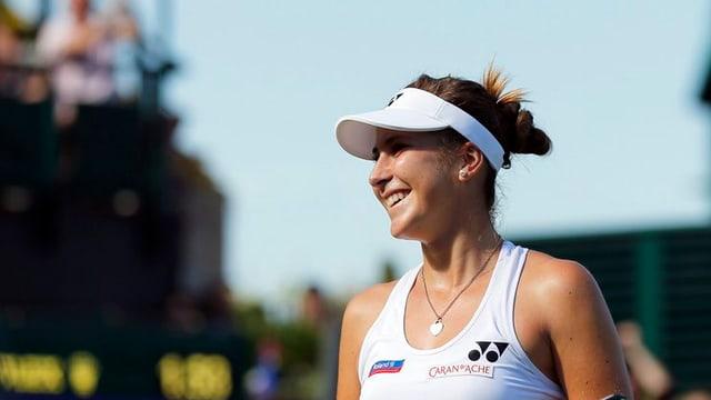 Belinda Bencic, giugadra da tennis