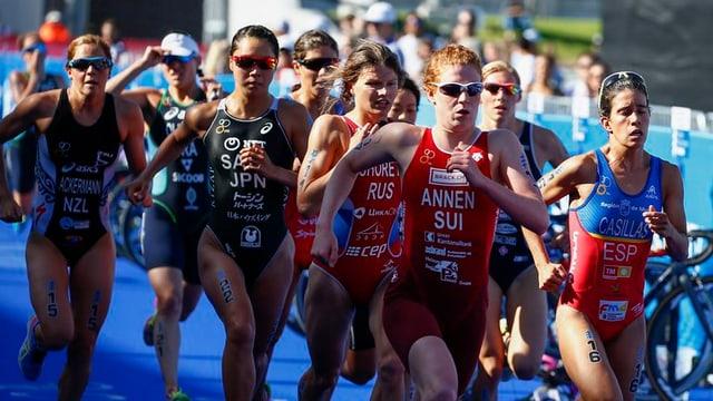 Jolanda Annen, qua tar ina cursa a Cape Town en l'Africa dal Sid