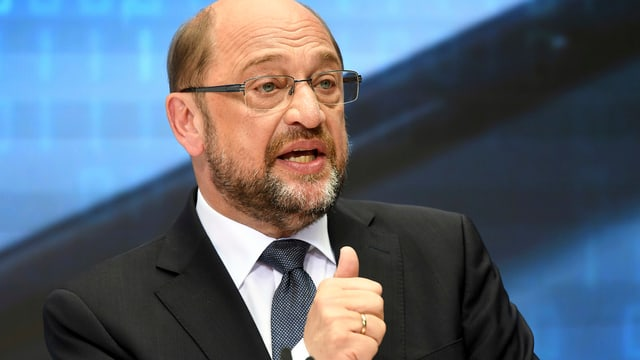 Martin Schulz SPD.