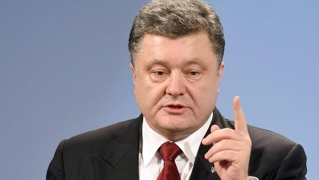 Petro Poroschenko auza il det mussader.