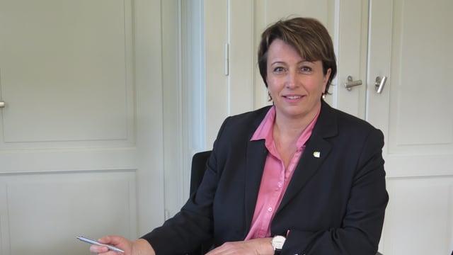 Die Thurgauer Sicherheitsdirektorin Cornelia Komposch dementiert Vorwürfe aus Deutschland.