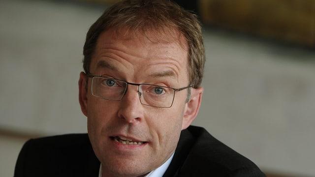 Verspricht, er werde haushälterisch mit dem Geld umgehen: Der neue Zürcher Finanzvorsteher Daniel Leupi.