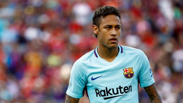 Il giugader da ballape Neymar durant in gieu.
