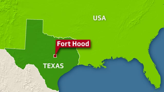 Karte Texas