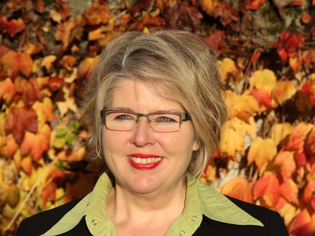 Barbara Thörnblad im Portrait.