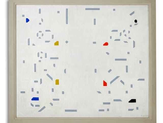 Piet Mondriaan: Holzfäller 1928.