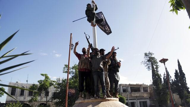 Kämpfer der Al-Nusra-Front in der Provinz Idlib