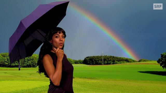 Video «Wie entsteht ein Regenbogen?   Clip und klar! - Dein Erklärvideo» abspielen