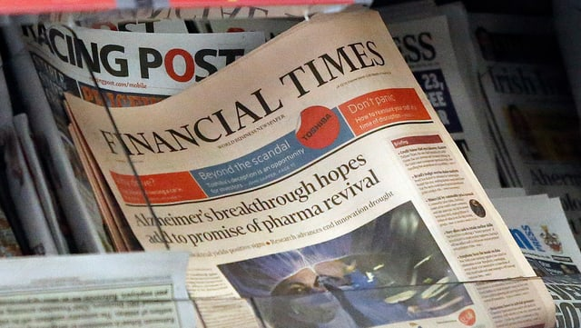 La gasetta d'economia britannica Financial Times daventa giazpunaisa.