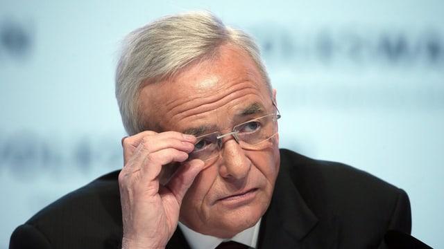 Der frühere VW-Chef, Martin Winterkorn
