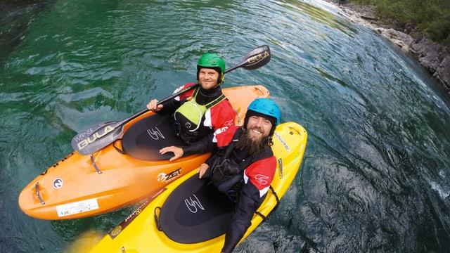 Video «Kajak extrem: Über Wasserfälle in Norwegen» abspielen