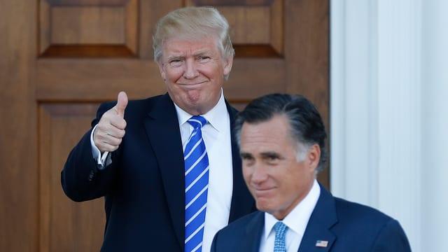 Trump und Romney