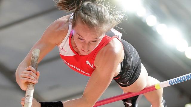 Nicole Büchler verpasst auch an der WM in Peking den Final.
