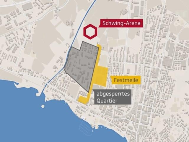 Die Schwing-Arena.