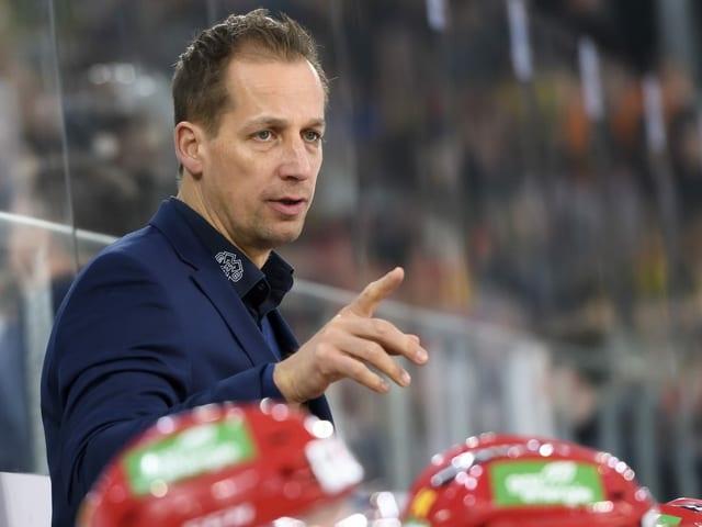 Biel-Trainer Antti Törmänen.