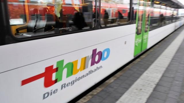 Zug der Regionalbahn Thurbo.