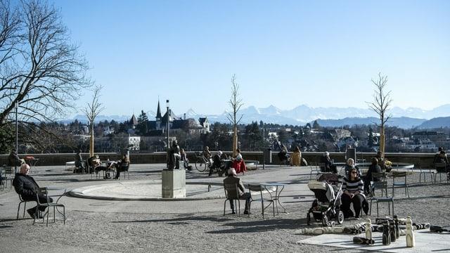 Frühlingsgefühle in Bern.