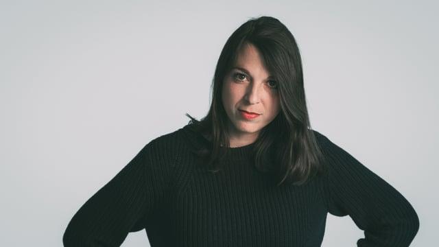 Kompass-Moderatorin Nadine Nikles