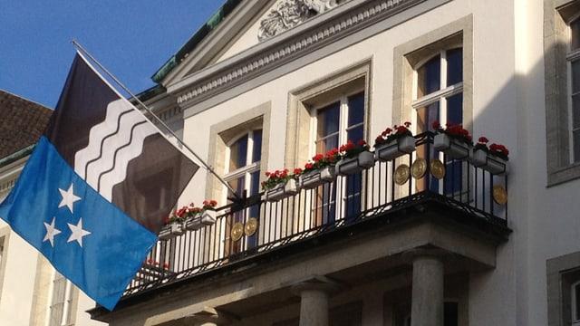 Regierungsgebäude in Aarau