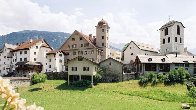 Die Altstadt von Ilanz