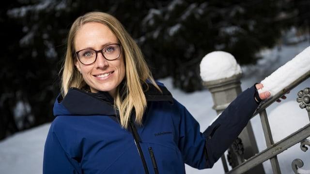 Tamara Wolf candidescha per gremi dal presidi Swiss Ski