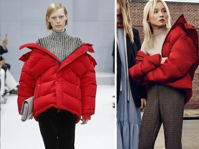 zweimal rote Jacke