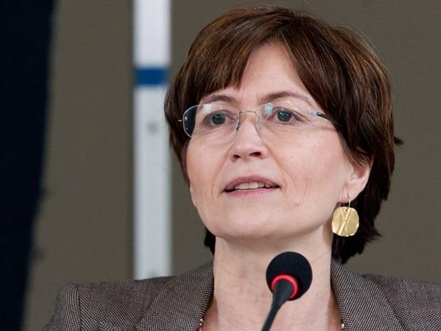 Porträt von Regula Rytz.